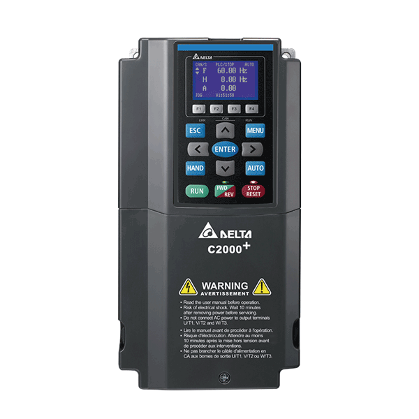 C2000 Plus frekvensomriktare
